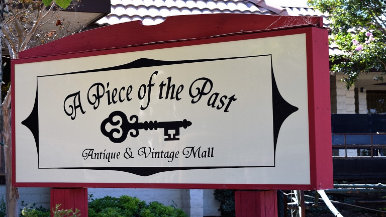 A Piece of the Past - Antiques