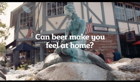Can beer make you feel at home? With Carlsberg and Aaron Petersen.