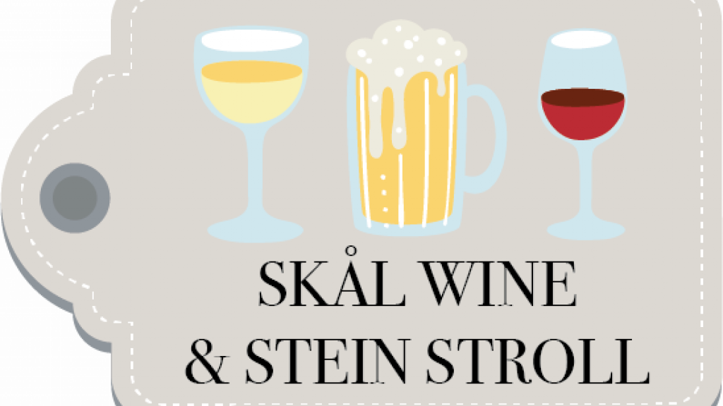 Solvang's First Ever Drone Christmas Light Show + Skål Wine & Stein Stroll